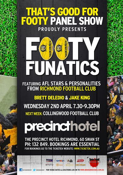 Footy Funatics Richmond FC - It's On The House